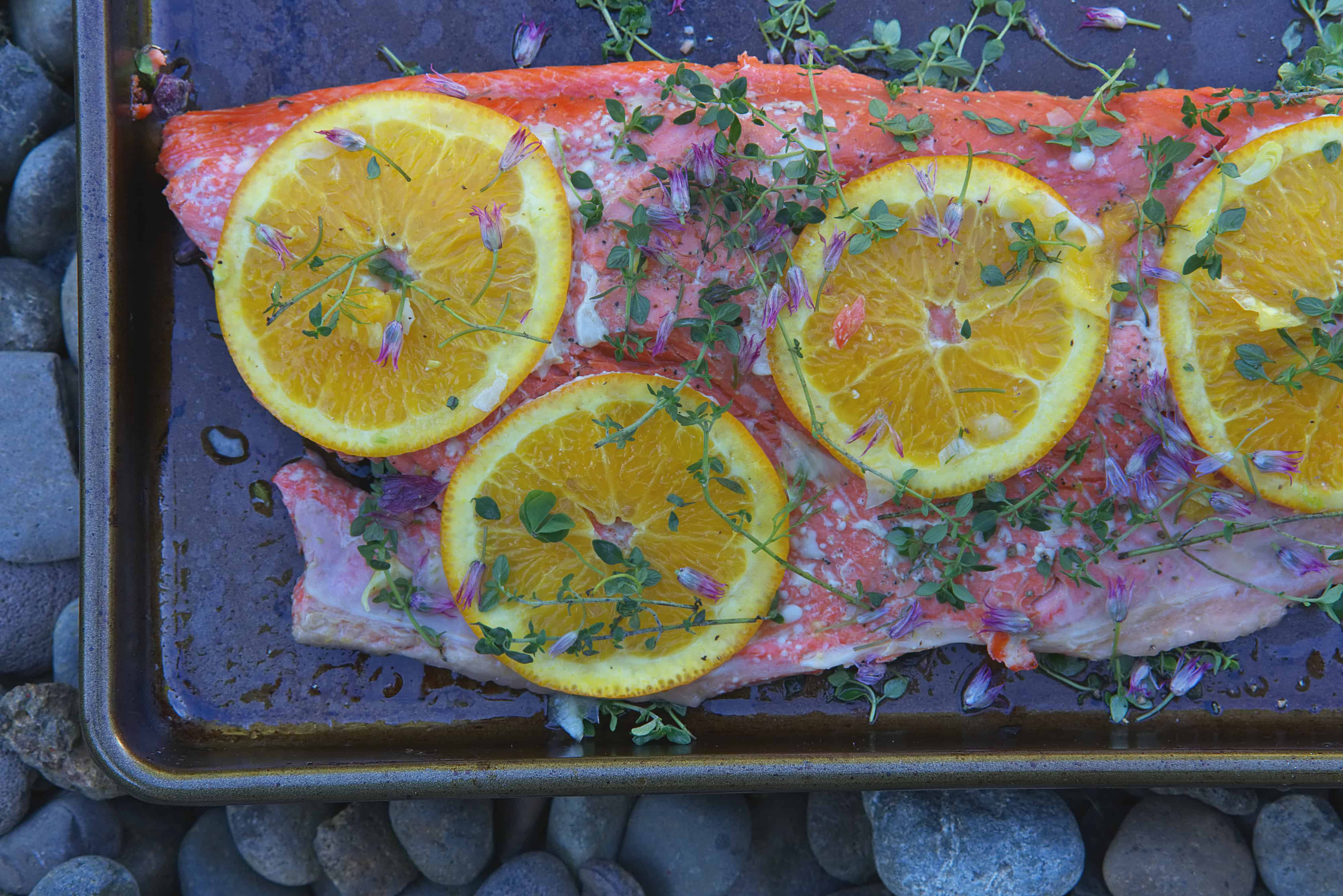 Citrus Thyme Salmon | Proportional Plate