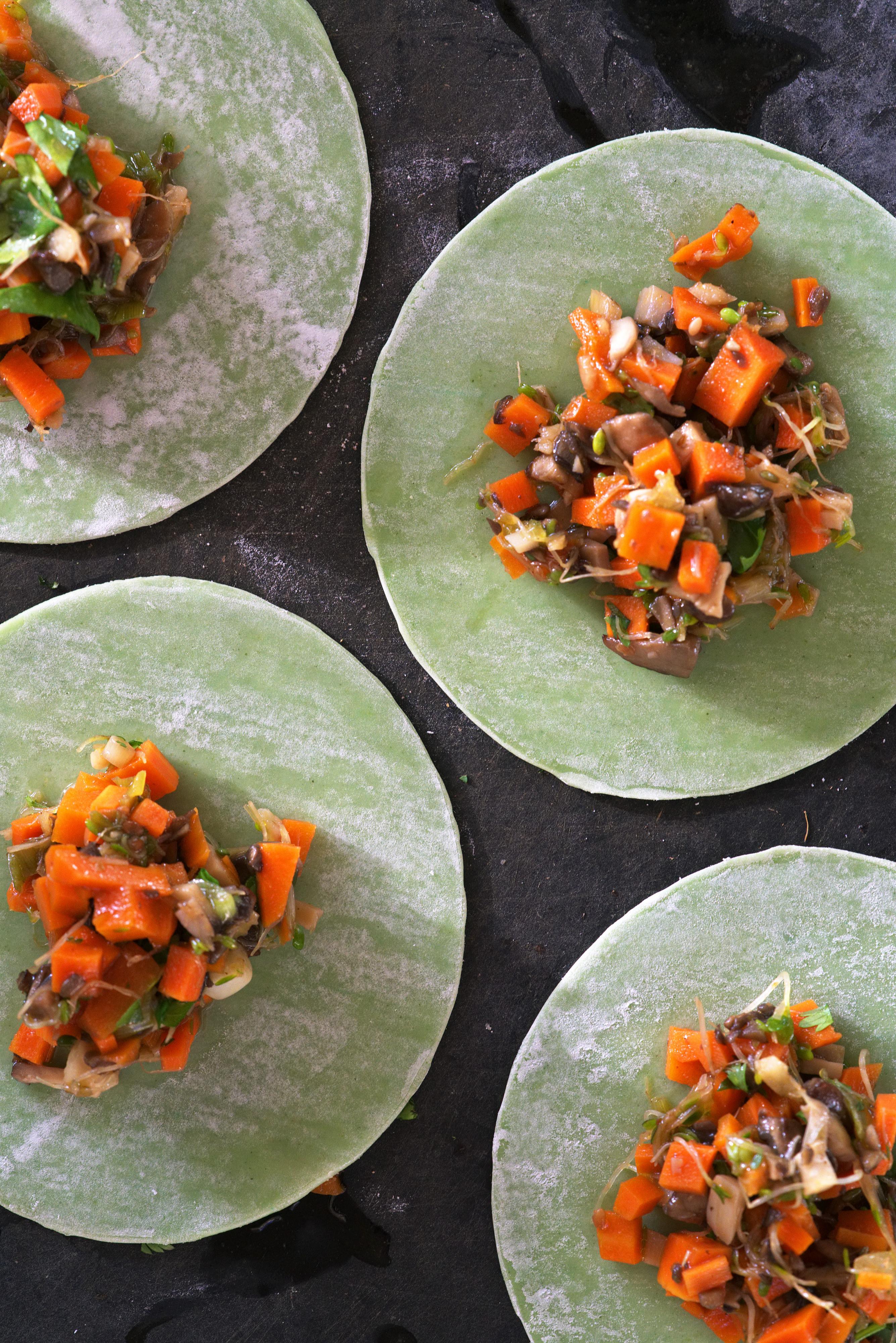 Veggie Dumplings | Proportional Plate