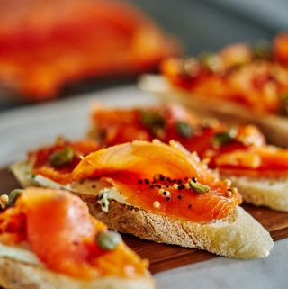 Tarragon & Fennel Scotch Cured Salmon – How to Cure Salmon