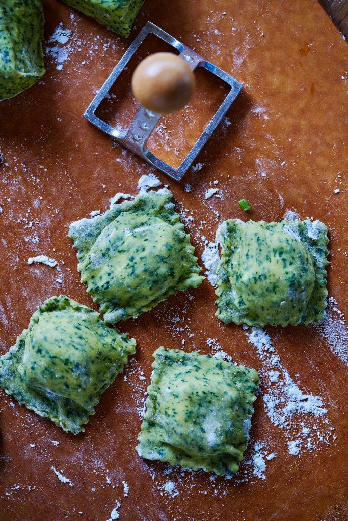 Broccoli Rabe Ravioli | Proportional Plate